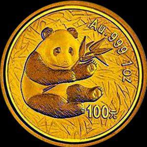 2000 chinese gold panda