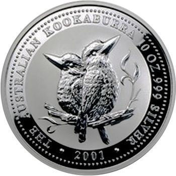 2001 silver kookaburra