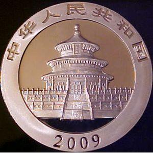 2001 thru present silver panda