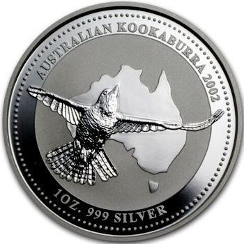 2002 silver kookaburra