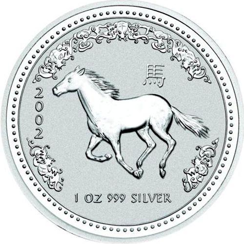 2002 series 1 - silver lunar horse
