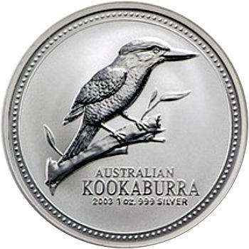 2003 silver kookaburra