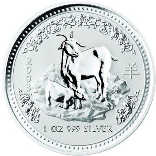 2003 series 1 - silver lunar goat