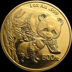 2004 chinese gold panda