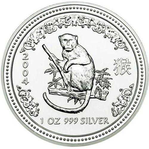 2004 series 1 - silver lunar monkey