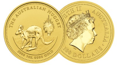 Australian Gold Nugget Bullion Coin