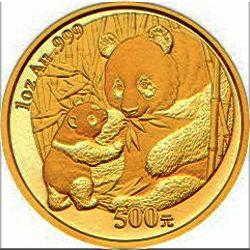 2005 chinese gold panda