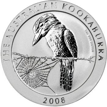 2008 silver kookaburra
