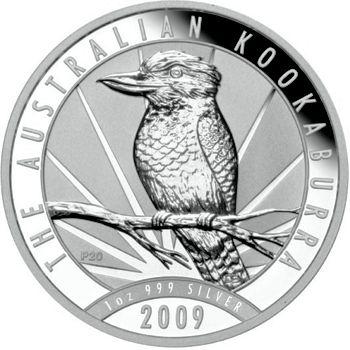 2009 silver kookaburra