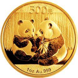 2009 chinese gold panda