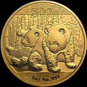 2010 chinese gold panda
