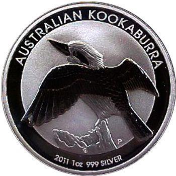 2011 silver kookaburra