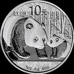 2011 chinese silver panda