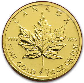 tenth oz gold coin