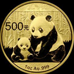 2012 chinese gold panda