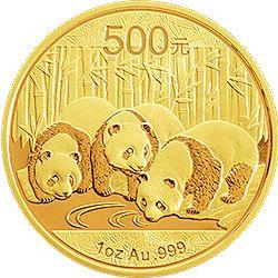 2013 chinese gold panda