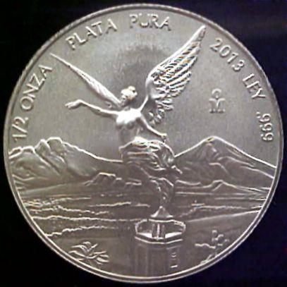 half oz silver libertad