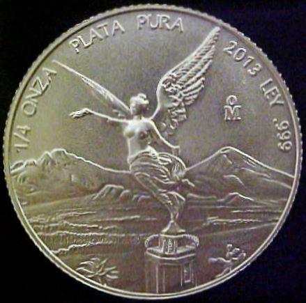 quarter oz silver libertad
