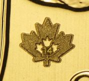 gold maple leaf securityfeature
