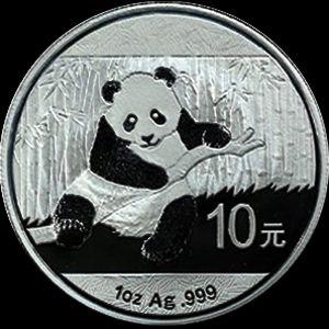 2014 chinese silver panda