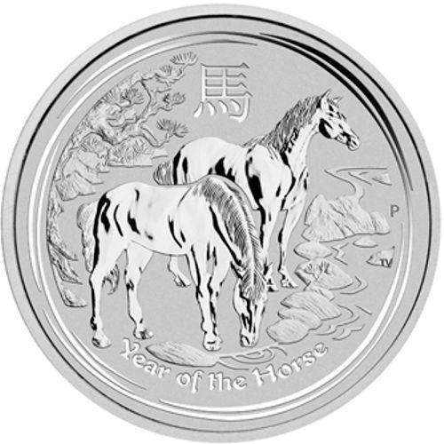 2014 series 2 - silver lunar horse