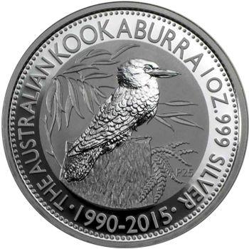 2015 silver kookaburra