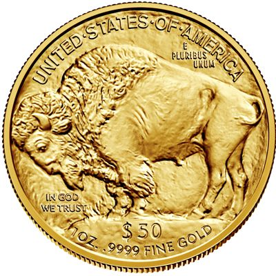 1oz american buffalo gold bullion coin rev