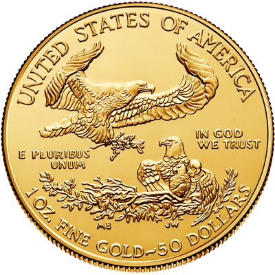 1 oz american eagle gold