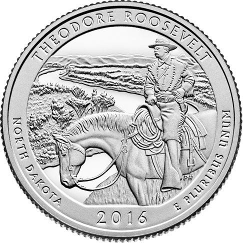 5oz atb north dakota theodore roosevelt coin