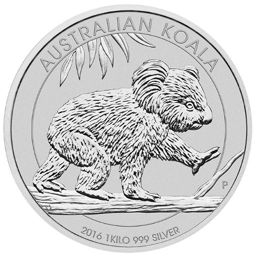 1 Kilo Australian Silver Koala Bullion Coin