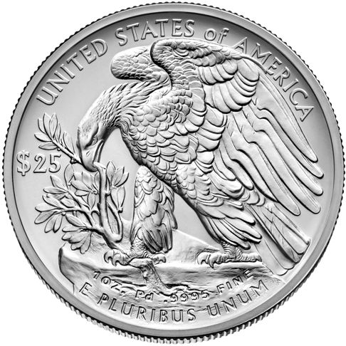 1oz american eagle palladium bullion coin rev