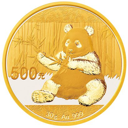 1 Oz Chinese Gold Panda Bullion Coin