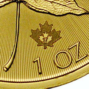 gold maple leaf security feature