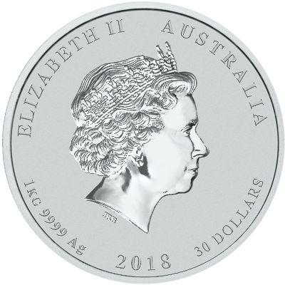 one kilo silver lunar