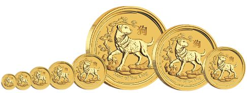 gold lunar series bullion coins