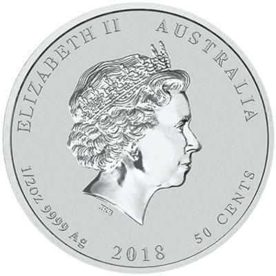 2018 half oz silver lunar
