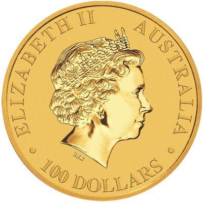 2018 - 1 oz. Australian Gold Kangaroo Bullion Coin - Obverse