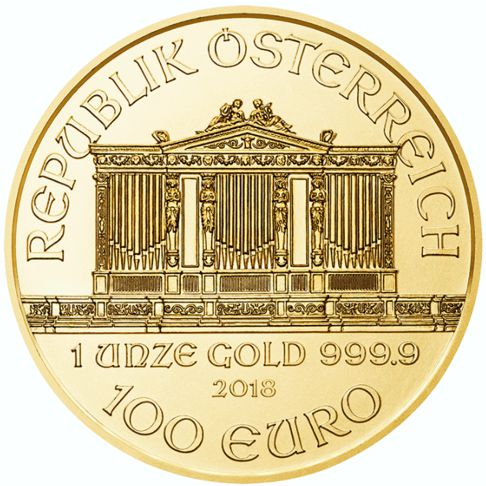 Gold Philharmonic Bullion Coin