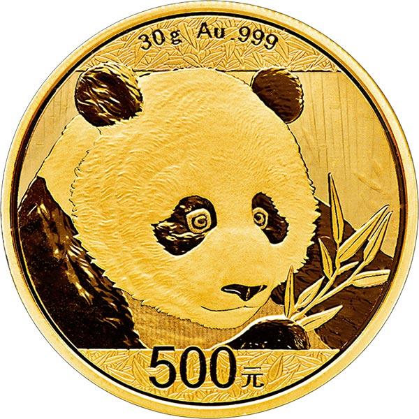 2018 chinese gold panda