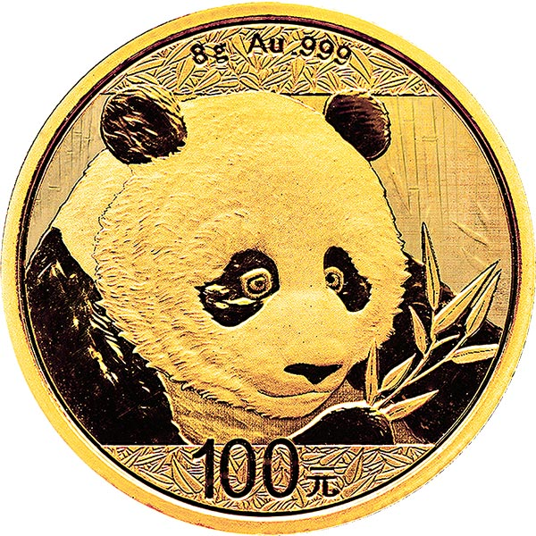 Chinese Gold Panda Bullion Coin