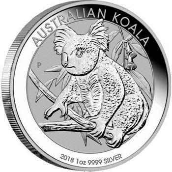 2018 silver koala