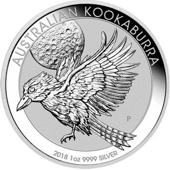 2018 silver kookaburra