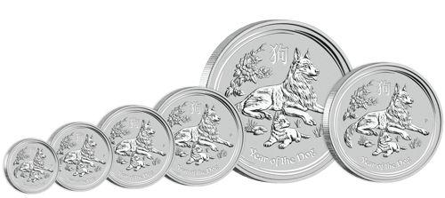 Silver Lunar Series Bullion Coins