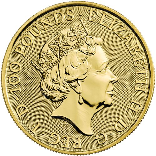 one oz gold britannia obv