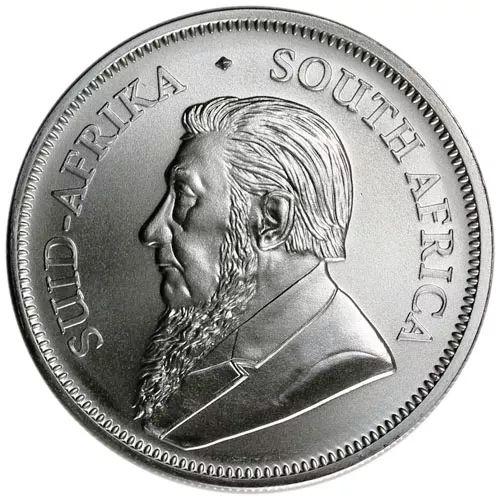 silver krugerrand obv
