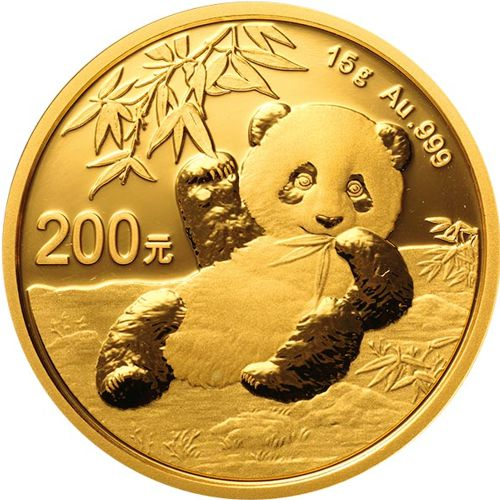 Gold Panda Bullion Coin