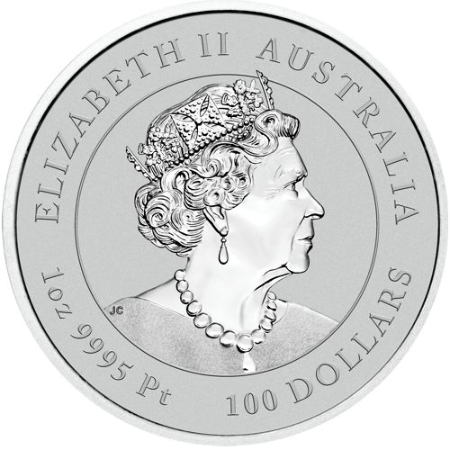 Platinum Australian lunar