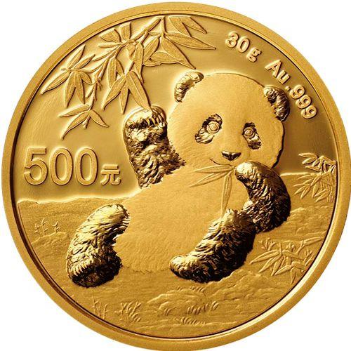30g gold panda rev