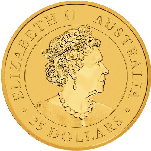 1/4oz. Australian Gold Kangaroo - Obverse