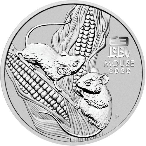 1 oz. Australian Silver Lunar Bullion Coin